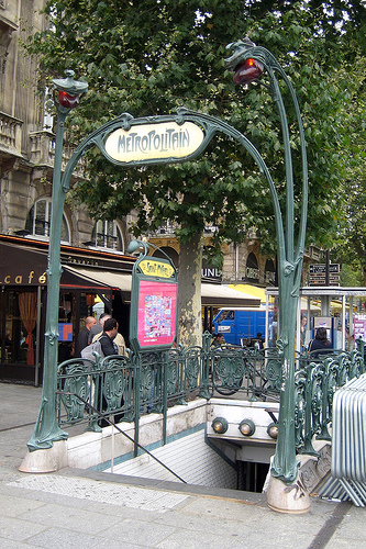 Save money by using the Paris Métro when traveling in Paris