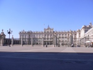 The Royal Palace of Madrid is the official residence of The King of Spain