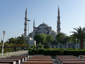 The Sultan Ahmed Mosque, also known as the Blue Mosque is a must see destination on a trip to Istanbul.