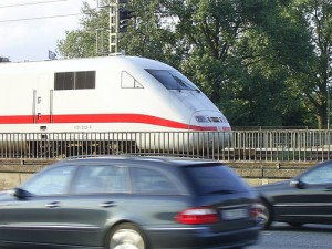 Germany's highspeed ICE (Inter City Express) train