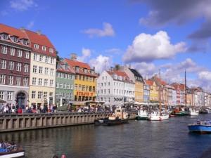 The Nyhavn Canal in Copenhagen, Denmark
