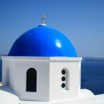A Blue Dome at Oia