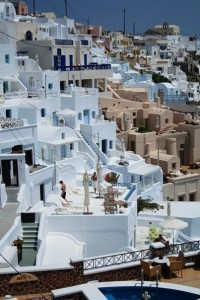 The picturesque village of Oia is one of the most popular places to stay in Santorini