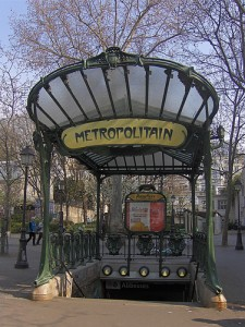 Abbesses Metro, Paris