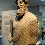 A Cypriot statue at London's British Museum