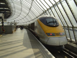 Catch the Eurostar for a fast rail travel between London, Paris and Brussels