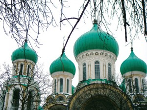 Lithuania's Russian Orthodox church of St. Michael and St. Constantine