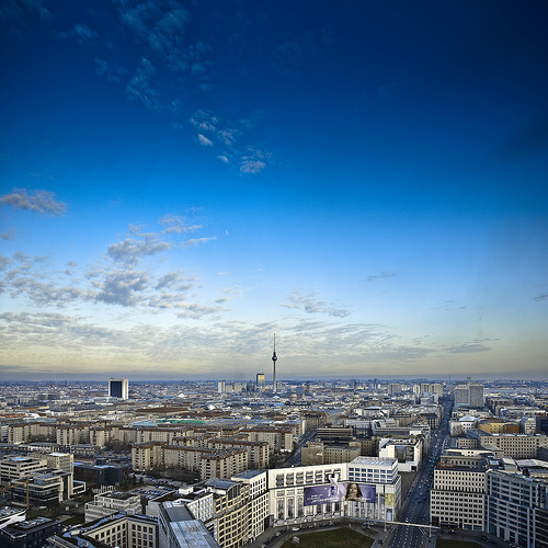 The view from Berlin's Kollhoff Tower