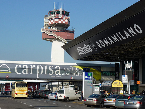 Leonardo Da Vinci Airport, Rome