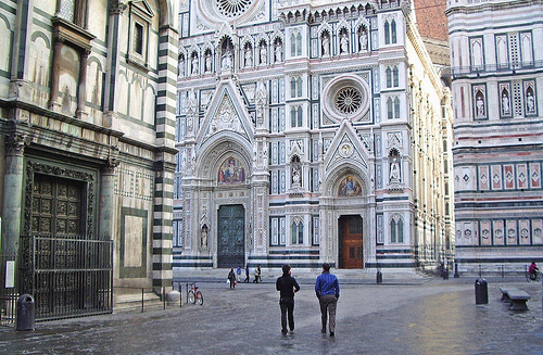 Piazza del Duomo is one of the most visited squares in Europe
