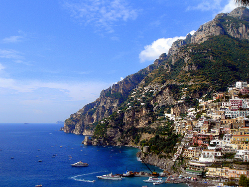 Italy's Amalfi Coast offers one of the most beautiful drving experiences in Europe - Photo: Dew Drop