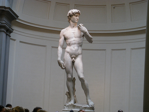 Michelangelo's David - Photo: mtj8003
