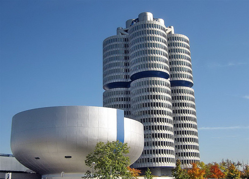 The BMW museum in Munich - Photo: Werner Boehm