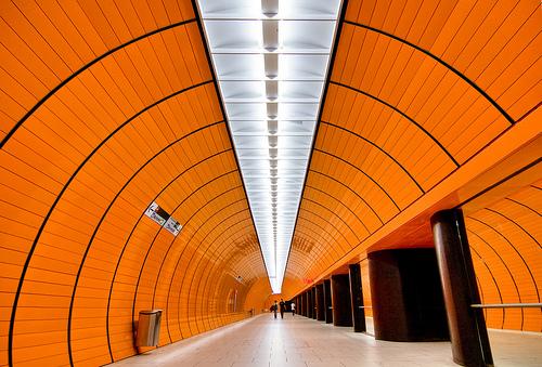 Munich's Marienplatz Station - Photo: yushimoto_02
