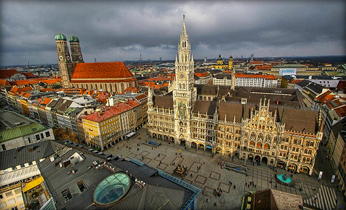 View from the tower of St. Peter's Church - Photo: digital_don