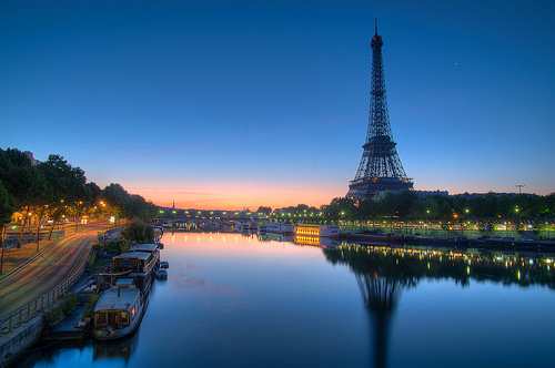 The Seine River and Eifel Tower - Photo: Vincent Montibus