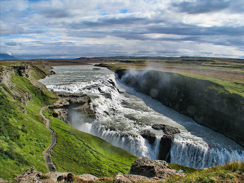 The Gullfoss is one of the natural wonders of the world - Photo: Martinca