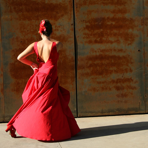 A Spanish flamenco dancer - Photo: flamenco_cs