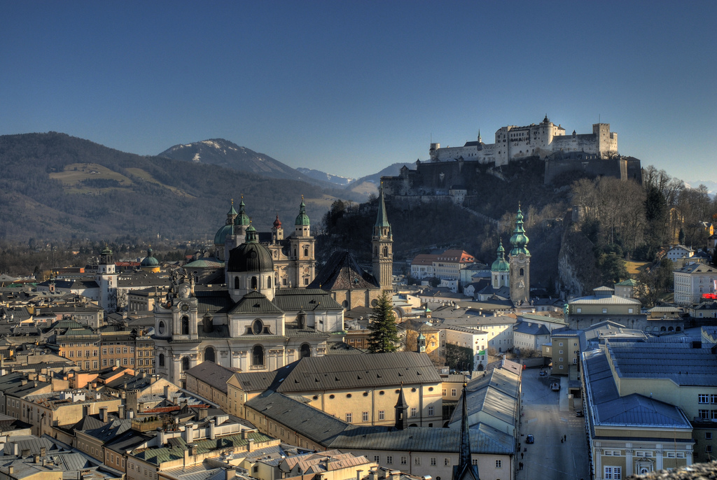 Why not take a day trip to beautiful Salzburg from Munich?